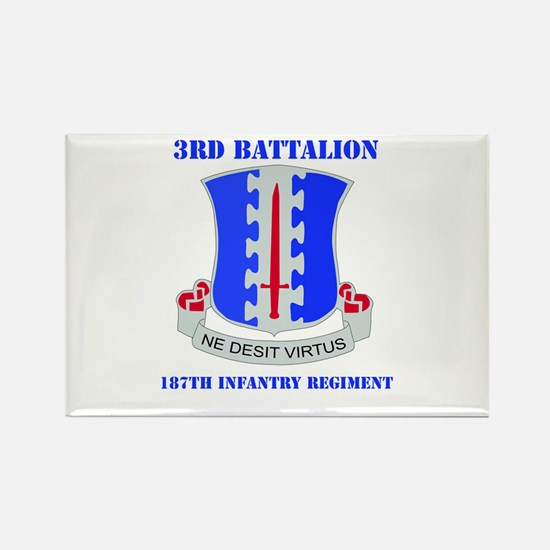 DUI - 3rd Bn - 187th Infantry Regt with Text Recta