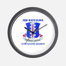 DUI - 3rd Bn - 187th Infantry Regt with Text Wall