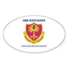 DUI - 3rd Bn - 320th FA Regt with Text Decal