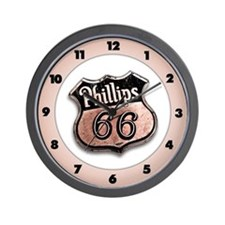 Phillips 66 Wall Clock