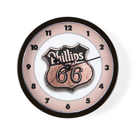 Phillips 66 Wall Clock