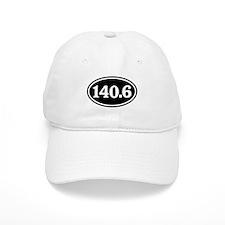 140.6 Triathlon Oval Baseball Cap