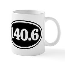 140.6 Triathlon Oval Mug