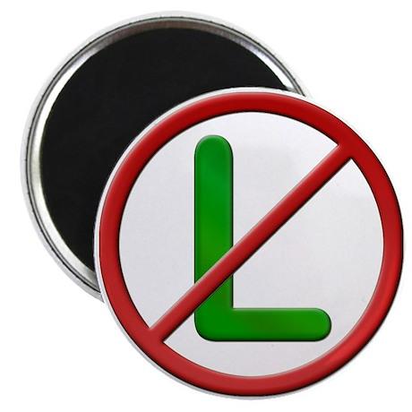 """Noel No L 2.25"""" Magnet (100 pack)"""
