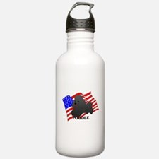 Poodle USA Water Bottle