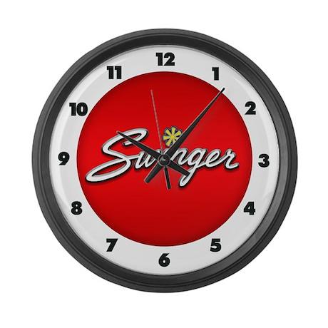 Swinger Large Wall Clock