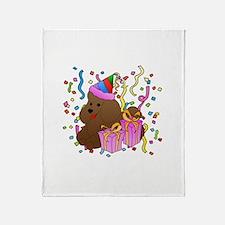 Poodle Throw Blanket