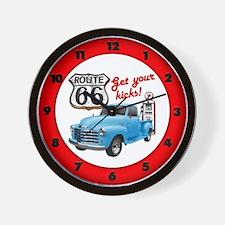 Get Your Kicks! Wall Clock