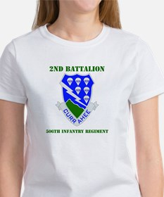 DUI - 2nd Bn - 506th Infantry Regt with Text Women