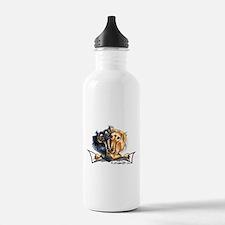 Longhair Dachshund Lover Water Bottle