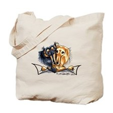 Longhair Dachshund Lover Tote Bag