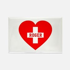 I Love Roger Rectangle Magnet