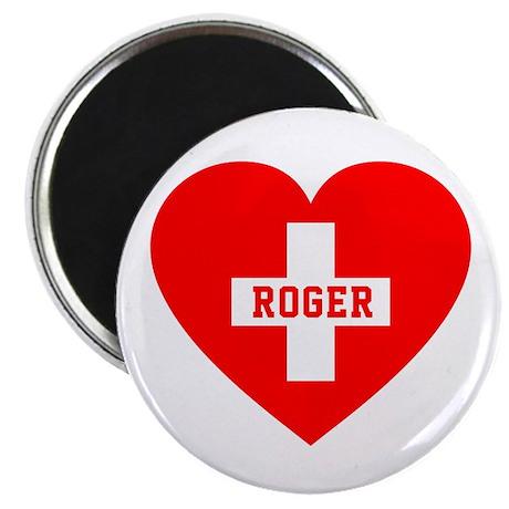 I Love Roger Magnet