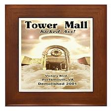 Tower Mall Framed Tile