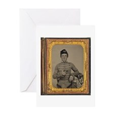 George Armstrong Custer Greeting Card