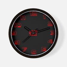 CYMRU DRAGON Wall Clock
