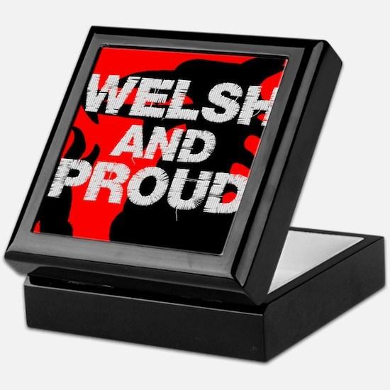 WELSH AND PROUD Keepsake Box