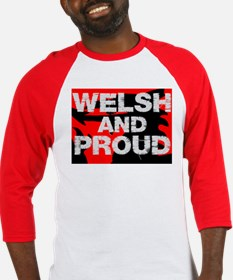WELSH AND PROUD Baseball Jersey