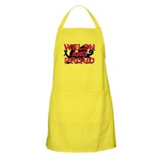 WELSH AND PROUD Apron (light)