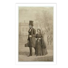 Abraham & Mary Todd Lincoln Postcards (Package of