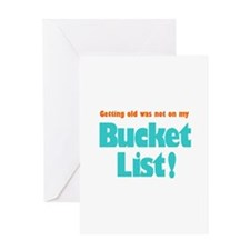 The Bucket List Greeting Card