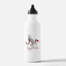 merry cockatoo Water Bottle