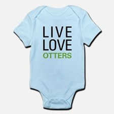 Live Love Otters Infant Bodysuit
