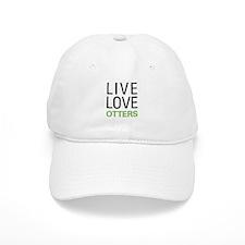 Live Love Otters Baseball Cap