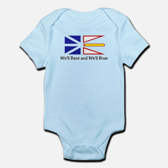 We'll Rant and We'll Roar Infant Bodysuit