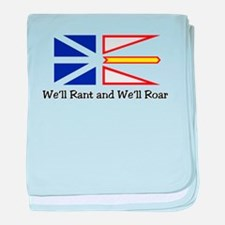 We'll Rant and We'll Roar baby blanket