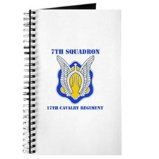 DUI - 7th Sqdrn - 17th Cavalry Regt with Text Jour
