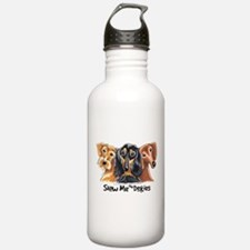 Show Me Doxies Water Bottle
