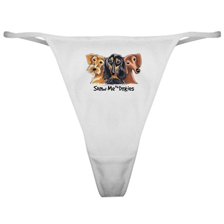 Show Me Doxies Classic Thong