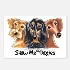 Show Me Doxies Postcards (Package of 8)