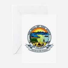 Alaska State Seal Greeting Cards (Pk of 10)
