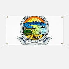 Alaska State Seal Banner