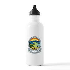 Alaska State Seal Water Bottle