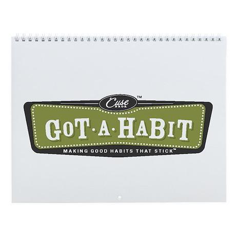 """""""""""Got A Habit"""" Wall Calendar"""