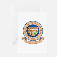 Arizona Seal Greeting Cards (Pk of 10)