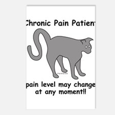 Chronic Pain Patient Postcards (Package of 8)