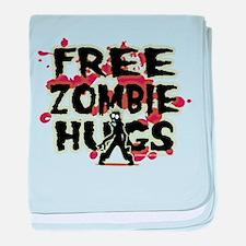 Free Zombie Hugs baby blanket