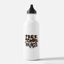 Free Zombie Hugs Water Bottle