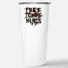 Free Zombie Hugs Stainless Steel Travel Mug
