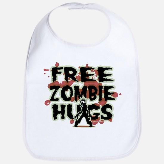 Free Zombie Hugs Bib