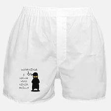 Mad Ninja Skills Boxer Shorts