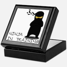 Ninja in Training Keepsake Box