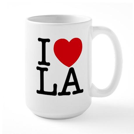 I Love LA Mugs