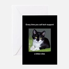 Funny Tech support Greeting Card