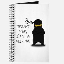 Trust Me, I'm A Ninja Journal