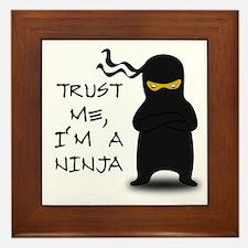 Trust Me, I'm A Ninja Framed Tile